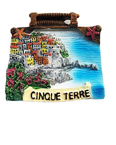 Cinque Terre Italia Magnete da frigorifero 3D regalo souvenir decorazione casa e cucina adesivo magnetico frigorifero collezione 2
