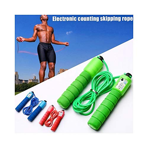 Best Bargain Fitness Skipping Rope with Counter Sports Adjustable Speed Counting