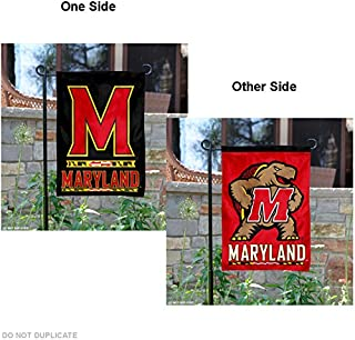 College Flags and Banners Co. Maryland Terrapins Dual Logo Garden Flag