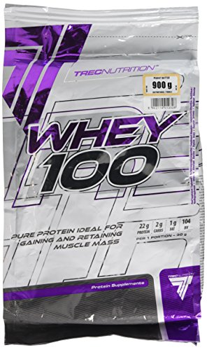 Trec Nutrition 100 Percent Whey Protein Concentrate, 900 g, Advocat