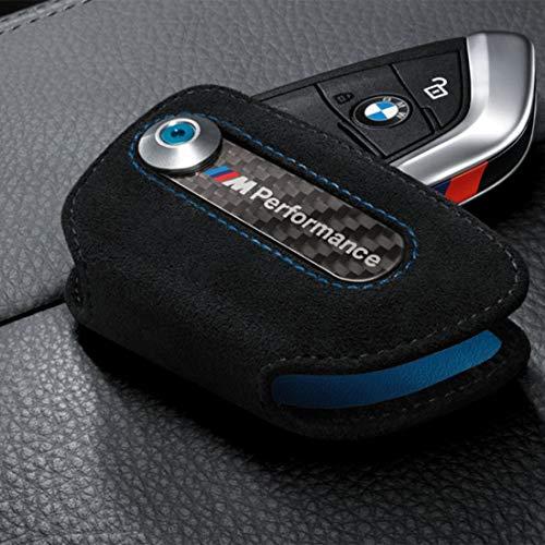 Original BMW M Performance Schlüsseletui aus Alcantara - neues Schlüsseldesign