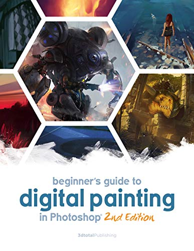 Beginner\'s Guide to Digital Painting in Photoshop 2nd Edition (English Edition)
