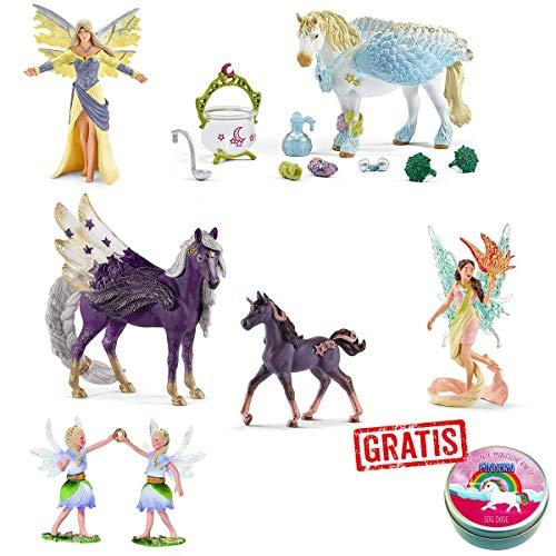 Spar-Set 177447 - Schleich - mystisches bayala Elfen-Set mit Einhorn und Pegasus