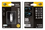 HELLA 8GL 178 560-551 Lámpara - LED - LED Retrofit - 12V - 1W - Tipo de portalámpara: SV8.5-8 - Blister - Cant.: 1