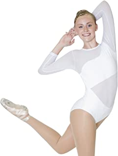 white leotard womens