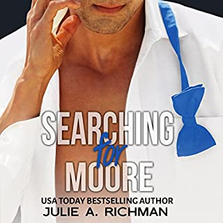 Searching for Moore audiobook cover art