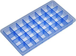 Lurch Germany 0.7 x 0.7 Inch Silicone Ice Cube Tray, Blue