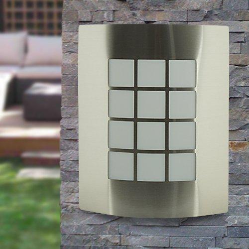ST031-I, buitenlamp, muurlamp, tuinlamp, buitenverlichting, edelstaal