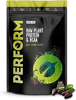 Vivo Life Perform: Vegan Raw Plant Protein & BCAA Raw Cacao 536g