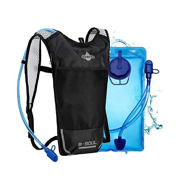 51Sr1gh6ekL. SS600  - Shayson Mochila de Hydration-2L Bolsas de hidratación y Unisexo Respirable Ultraligero Mochila de Hombro para Ciclismo…