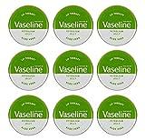 Vaseline Vaselina Lip Balm terapia Petróleo Jelly 20 G (9) Aloe Vera
