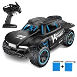 Kuorle Remote Control Car,2.4Ghz Remote Control Truck 1:18 Scale High Speed Racing Cars Off-Road RTR Electric Rock Climber Fast Race Buggy Hobby Car Toy for Kids