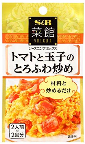 ヱスビー食品 菜館 トマトと玉子のとろふわ炒め 袋6.5g×2