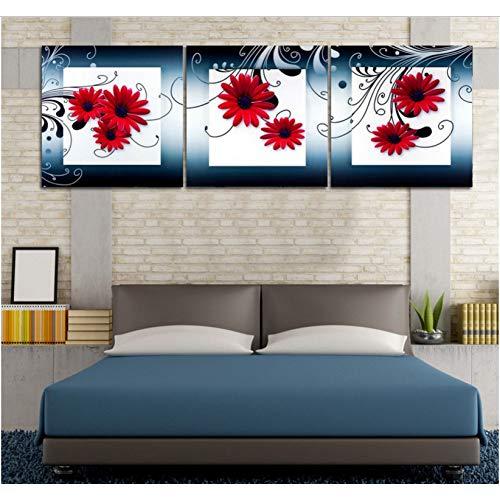 GYSS 3 panelen, 3-delig, decoratieve muurkunst, druk, afbeelding, schilderijen voor de woonkamer
