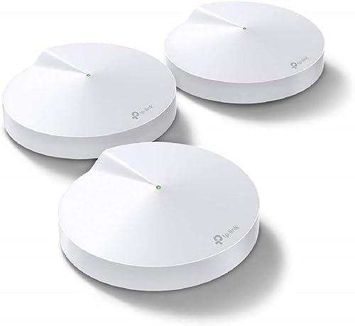 TP-Link Deco WiFi Mesh AC 1300Mbps Deco M5(3-pack) Système WiFi pour toute la maison - Couverture WiFi de 350㎡, 2 Gig...