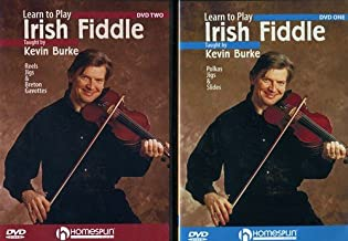 Learn to Play Irish Fiddle Set