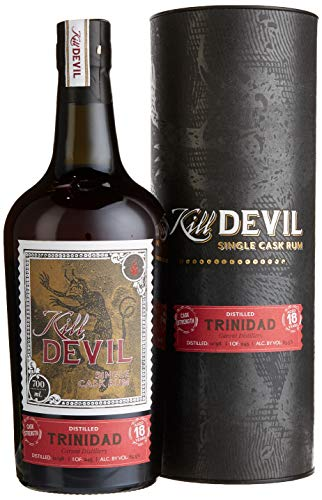 Hunter Laing Kill Devil Trinidad 18 Years Old Single Cask Rum mit Geschenkverpackung (1 x 0.7 l)