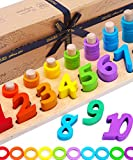 Jaques of London | Counting Wooden Toys For Kids | Ideal Educational Toys