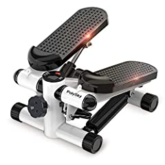 Merpin Stepper Home Trainer Stepper met verstelbare weerstand en draadloze trainingscomputer - up-down stepper*