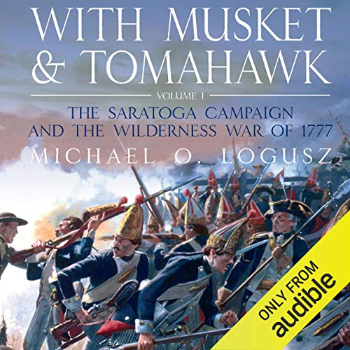 With Musket and Tomahawk Vol I Titelbild