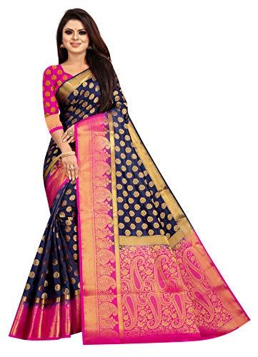 Nakshatra Tex Women's Banarasi Pure Silk Saree