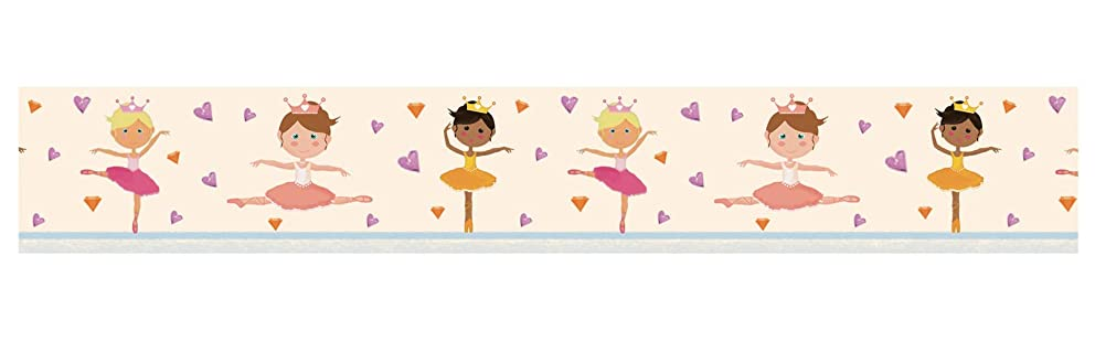 Ursus 59090020 Masking Tape, Approx. 30 mm x 10 m Ballerina Colourful