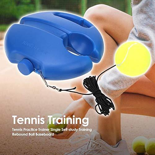 GTKY Tennis Trainer Rebound Ball, Tennis Trainer Ausrüstungsbasis, Tennisspieler Trainingshilfen üben, Training trainieren Rebound Baseboard zum Selbststudium (3pcs)