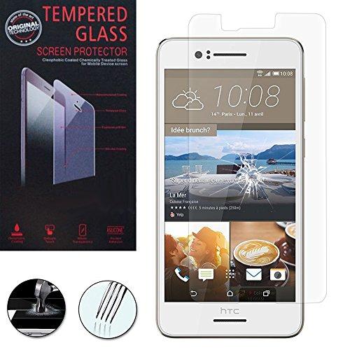 VComp-Shop® Hochwertige gehärtete Panzerglasfolie für HTC Desire 728 dual sim/ 728G dual sim - TRANSPARENT