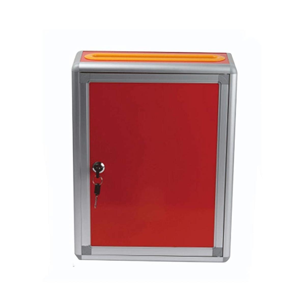 相互人気の配管工メールボックス多目的投票箱提案箱アクリルメールボックスホームメールボックス屋外壁メールボックス (色 : C)