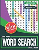 Large Print Word Search Puzzle Book: 85 Wordsearch Puzzles-Extra Large Word Search Books For Adults & All Other Puzzle Fans