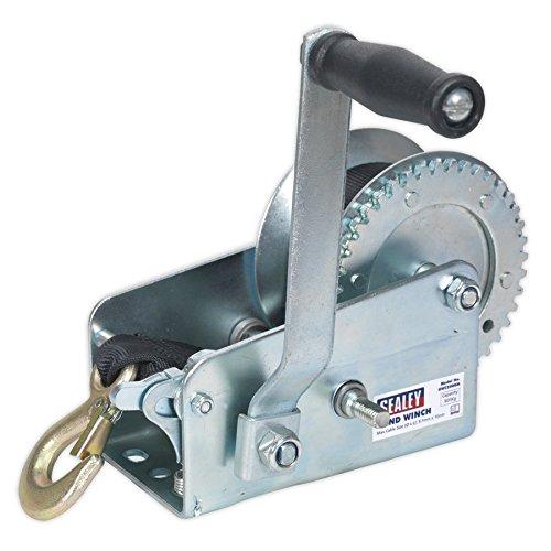 Sealey GWW2000M a partir cabestrante de mano 900 kg Caja con correa de cincha
