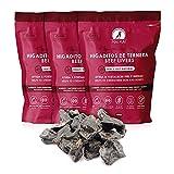 MAIKAI - Chuches Naturales Perros - 3 Bolsas de premios Naturales - Higaditos de Ternera deshidratados - Dieta Barf - Golosinas saludables Perros