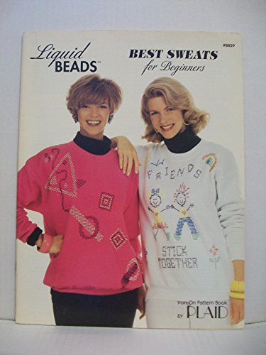 Liquid Beads: Best Sweats for Beginners - Iron-On Pattern Book (Plaid #8829)