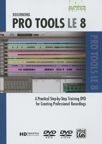 Price comparison product image Alfred Alfred's Pro Audio Series: Beginning Pro Tools LE 8 (DVD)