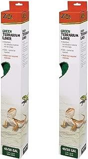 Zilla Reptile Terrarium Bedding Substrate Liner Green 125G