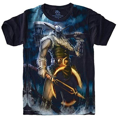 Camiseta League Of Legends LOL Olaf