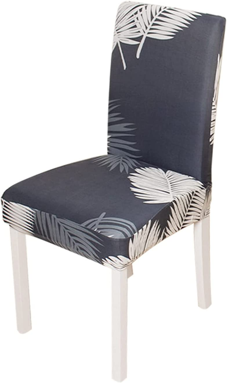 SYOUCC Chair Covers 1 2 Phoenix Mall Ranking TOP6 4 8pcs Stretch C Elastic Printed 6