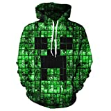 Role-Playing Adventure Games Kids 3D Print Hoodie Pullover Hooded Sweatshirts -01 -XL