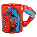 TAZA CERAMICA 3D 330 ML | BRAZO SPIDERMAN