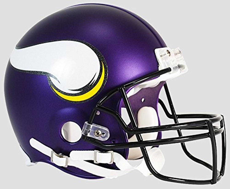 Minnesota Vikings Football Helmet B Satin Purple B