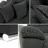 Eckcouch Ecksofa Niko Bis! Design Sofa Couch! mit Schlaffunktion und Bettkasten! U-Sofa Große Farbauswahl! Wohnlandschaft vom Hersteller (Ecksofa Links, Soft 020 + Majorka 03) - 6