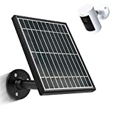Uncle Squirre Solar Panel Compatible with All-New Stick Up Cam Battery,Waterproof Charge Continuously,3.5W 5V Output,13.1ft/4.0m Power Cable (No Include Camera)
