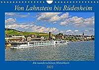 Von Lahnstein bis Ruedesheim - Am wunderschoenen Mittelrhein (Wandkalender 2022 DIN A4 quer): Eine Reise den Mittelrhein entlang (Geburtstagskalender, 14 Seiten )