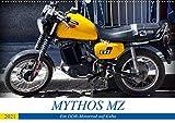 Mythos MZ - Ein DDR-Motorrad auf Kuba (Wandkalender 2021 DIN A2 quer)