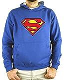 Sudadera Hombre - Unisex Superman (Azul, M)