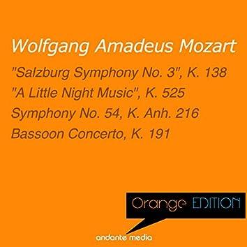 "Orange Edition - Mozart: ""A Little Night Music"", K. 525 & Bassoon Concerto, K. 191"
