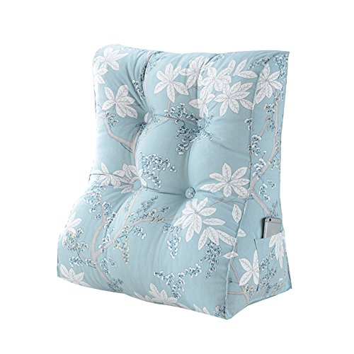 ZWL Coussin Triangle, Coussin de canapé Coussin de cou Grand coussin de chevet Dossier de chaise de bureau Coussin Oreiller de lit Protection du cou Taille Dossier Haut45-55cm mode z ( taille : 45*30*55cm )