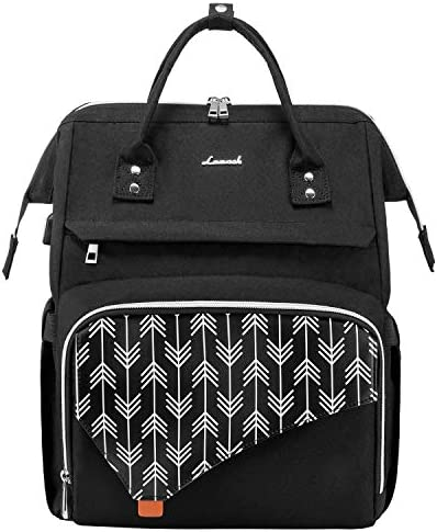 Upgraded Laptop Backpack LOVEVOOK Laptop Bag for Women Computer Bag for Work School Travel Teacher product image