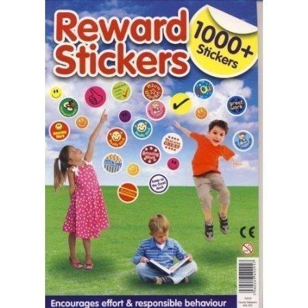 2x 1000+ TABLEAU DE récompense pour enfant Smiley Well Done Stickers
