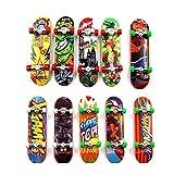 Reastar Finger Skateboard 10pcs Professionelle Mini Fingerboards...